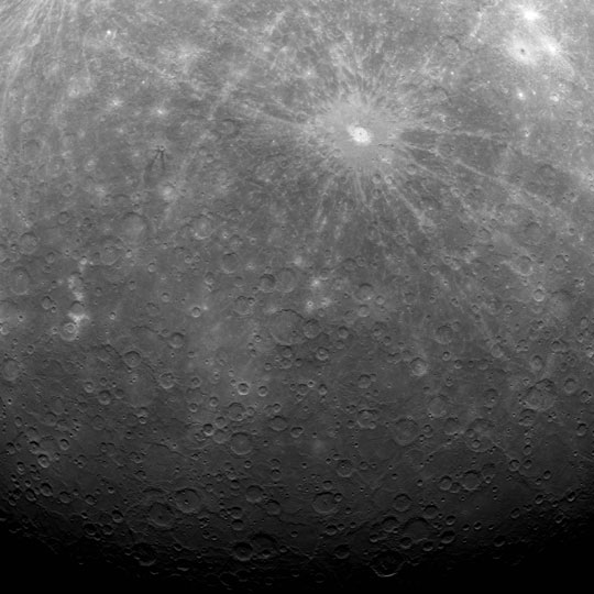First image of Mercury